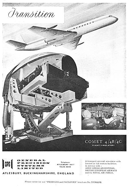 General Precision Systems. GPS Flight Simulators