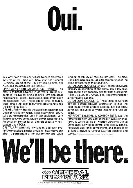 General Precision Systems. GPS Flight Simulators 1967