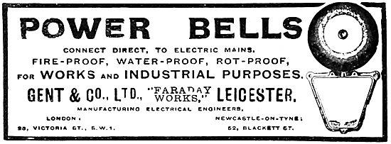 Gent & Co Power Bells For Factories