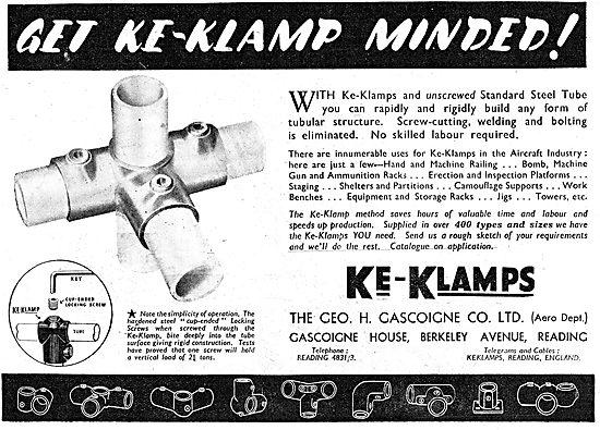 Geo Gascoigne KE-KLAMPS For Tubular Construction