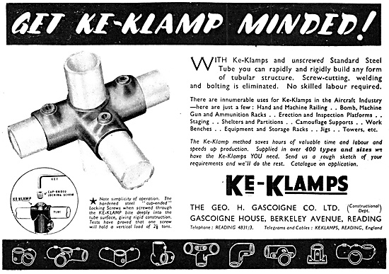 Geo Gascoigne KE-KLAMPS