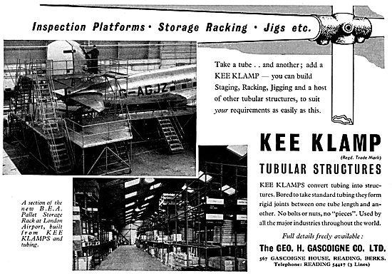 Geo Gascoigne KEE-KLAMP Tubular Racking System