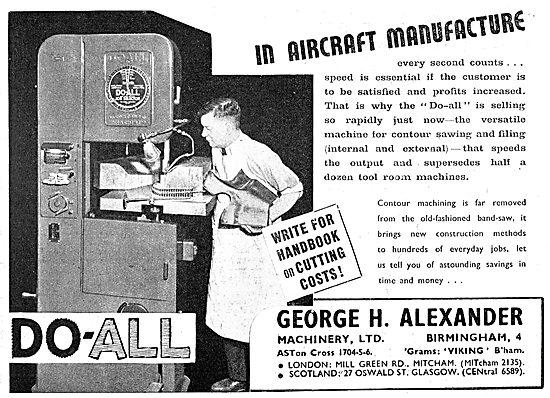 George Alexander Machine Tools