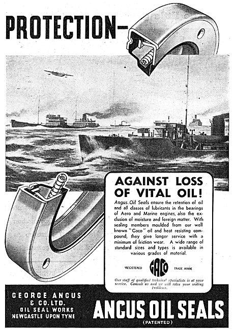 George Angus  Oil Seals, Packings & Gaskets
