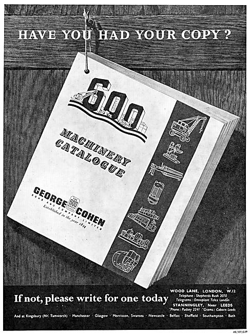 George Cohen Engineering Machinery & Machine Tools