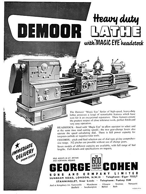 George Cohen Machine Tools Demoor Lathe