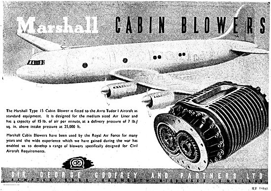 George Godfrey Marshall Aircraft Cabin Blowers