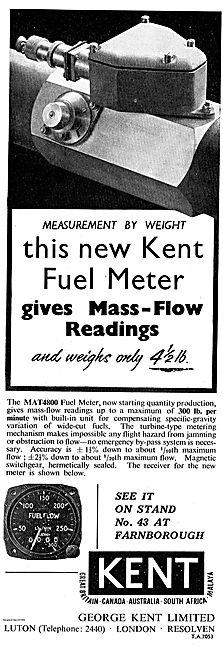 Kent MAT4800 Fuel Flow Meter For Aircraft
