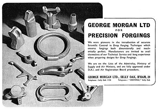 George Morgan Ltd. Selly Oak. Precision Forgings