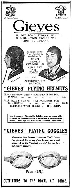 Gieves Flying Helmets