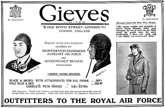Gieves RAF Uniforms & Flying Kit