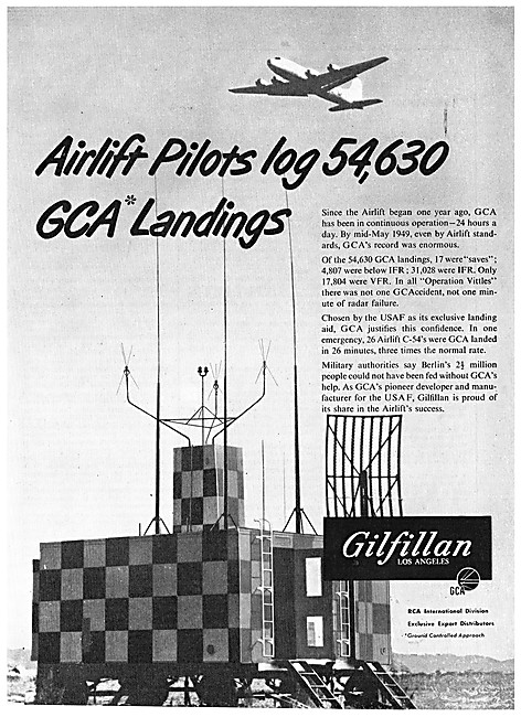 Gilfillan GCA Radar
