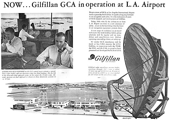 Gilfillan GCA - Gilfillan Ground Controlled Approach Radar 1950