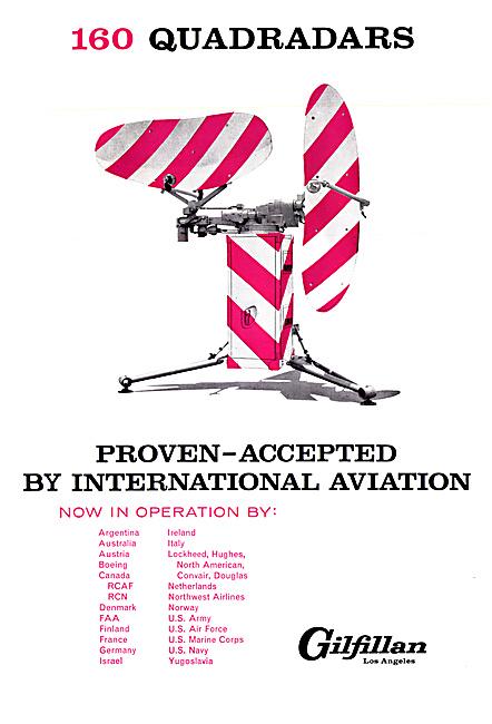 Gilfillan Radar & Electronics 1960