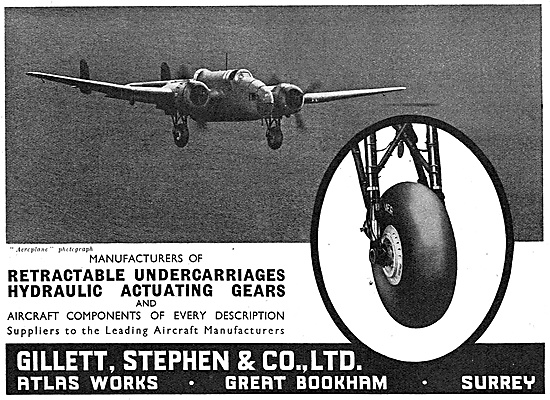 Gillett Stephen & Co - Hydraulic Actuating Gears & Components