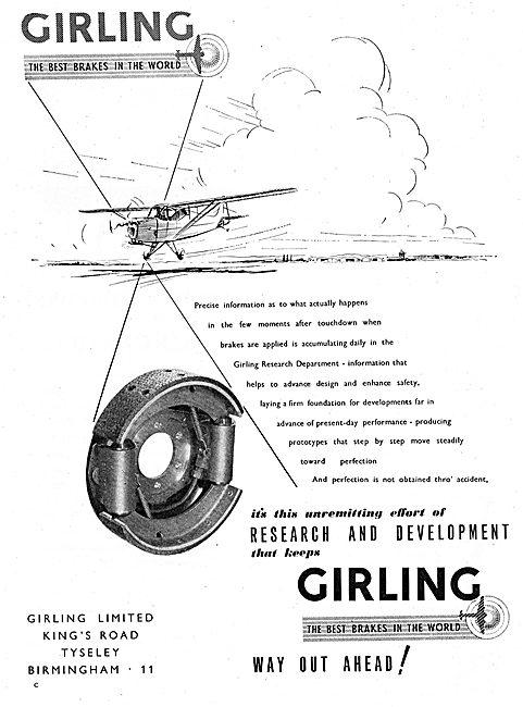 Girling Aircraft Brakes