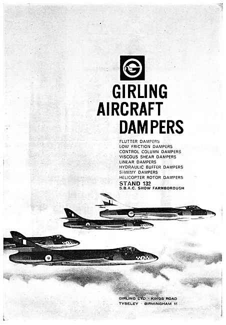 Girling Aircraft Dampers