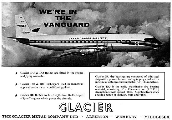 The Glacier Metal Company - Glacier DU Glacier DQ Bushes