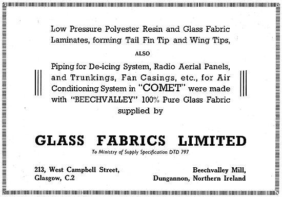 Glass Fabrics - Beechvalley 100% Pure Glass Fabric