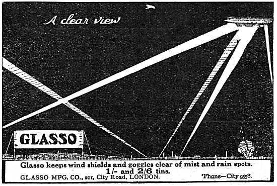 Glasso Prevents Mist On Windshields & Goggles