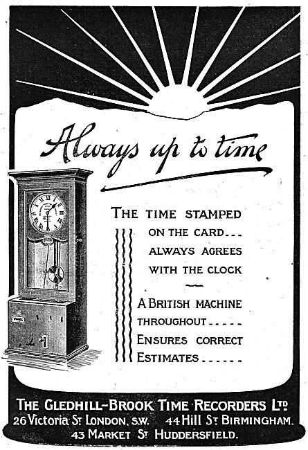 The Gledhill-Brook Factory Workers Time Stamp Recorder