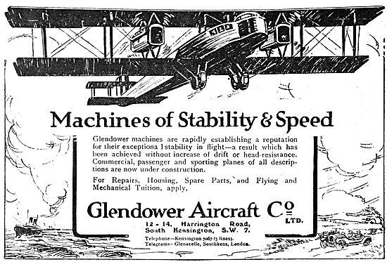 Glendower Aircraft Co: Aircraft Constructors