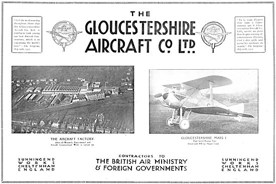 Gloster Mars High Speed Racing Aircraft