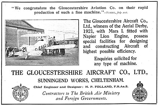 Gloster Mars 1. G-EAXZ