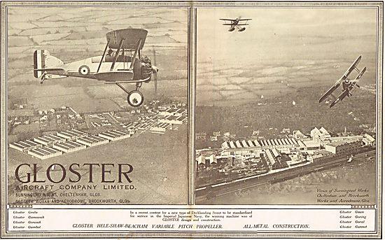 Gloster Decklanding Scout Aircraft