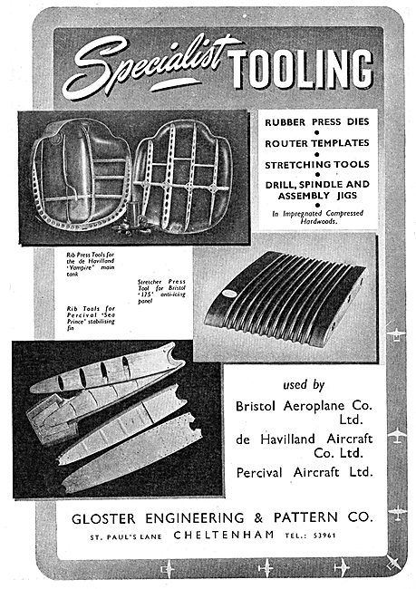 Gloster Engineering & Pattern Co - JIgs, Dies & Templates