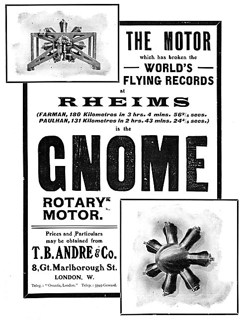 Gnome Rotary Aero-Engines