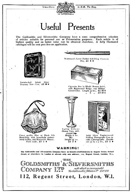 The Goldsmiths and Silversmiths Company Useful Presents