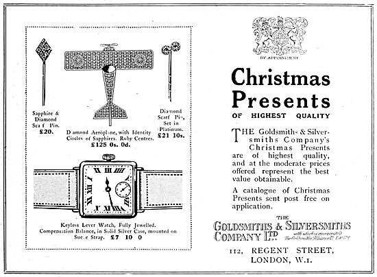 The Goldsmiths and Silversmiths Company. Christmas Presents