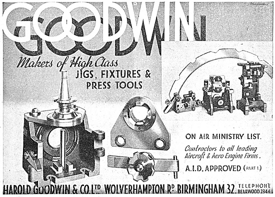 Harold Goodwin Jigs, Fixtures & Press Tools