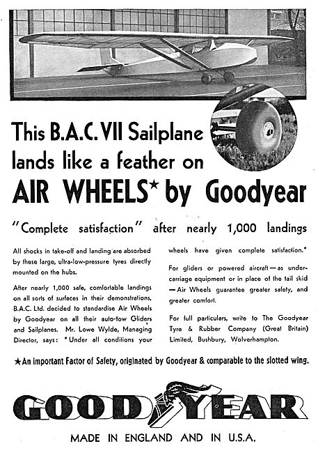 Goodyear Aircraft Wheels & Tyres