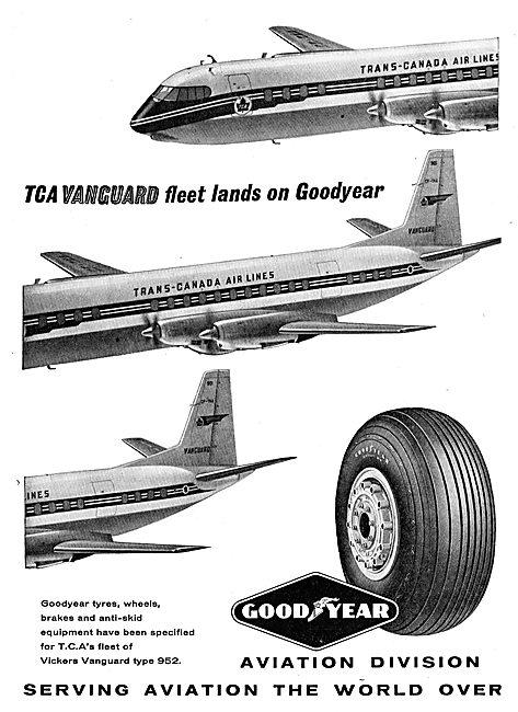 The TCA Vanguard Fleet Lands On Goodyear