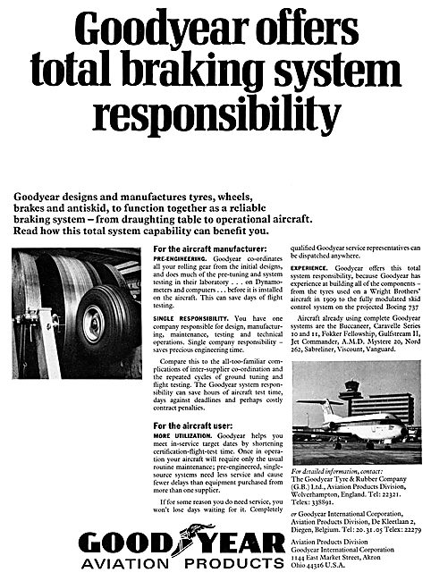 Goodyear Aviation Products