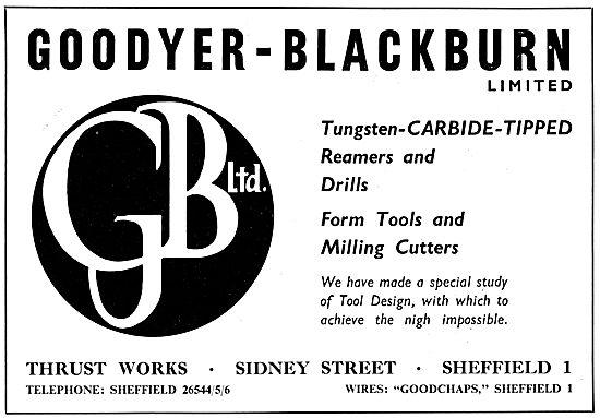 Goodyer-Blackburn - Reamers, Drills & Cutters