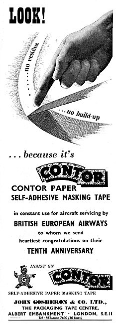 Gosheron Contor Self Adhesive Masking Tape For Aircraft Painting