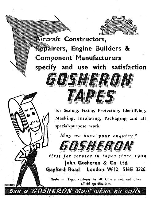 Gosheron Industrial Tapes