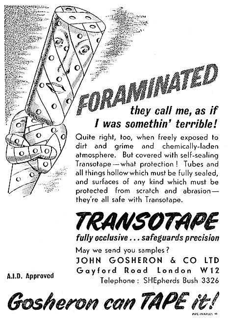 John Gosheron Tapes - Transotape - Contor