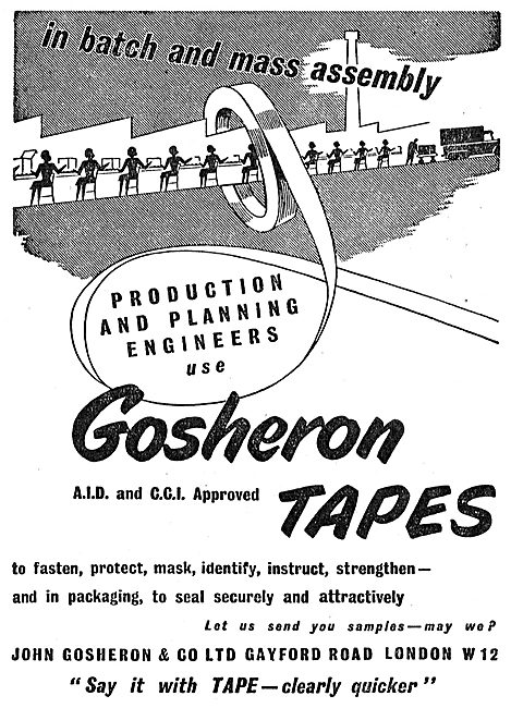 John Gosheron Component Identification & Protection Tapes
