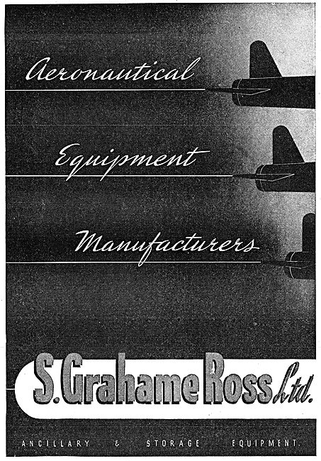 S Grahame Ross - Aeronautical Equipment