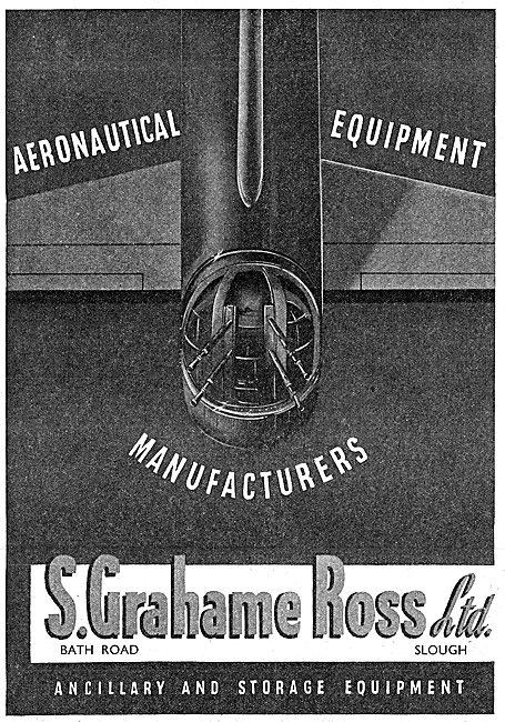 S Grahame Ross - Aeronautical Ancillary & Storage Equipment 1942