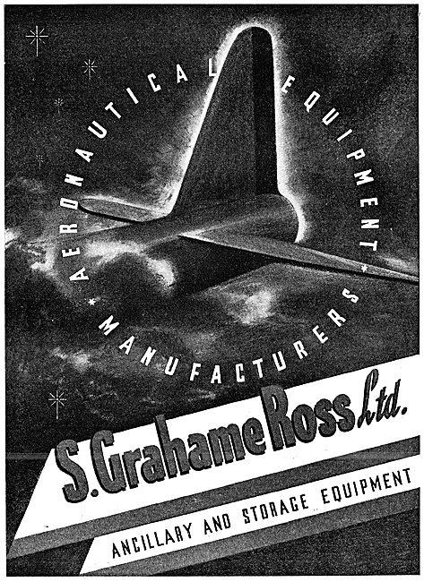 S.Grahame Ross - Aeronautical Ancillary & Storage Equipment 1943