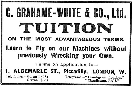 Grahame-White Tuition - Learn To Fly On Our Machines
