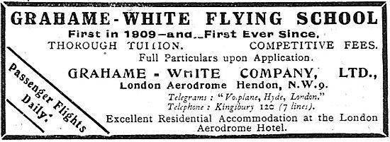 Grahame-White Flying School Hendon