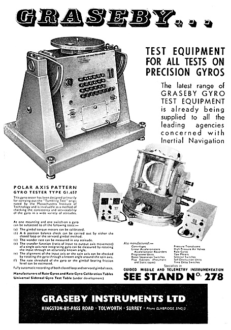 Graseby Gyro Test Equipment