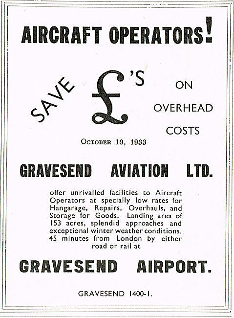 Aircraft Operators! Come To Gravesend