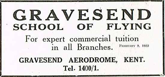 Gravesend School Of Flying For Expert Commrecial Tuition